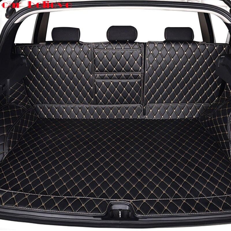 Car Believe Custom car trunk mat For nissan qashqai j10 j11 x-trail t31 t32 Cargo Liner Interior Accessories Carpet car styling
