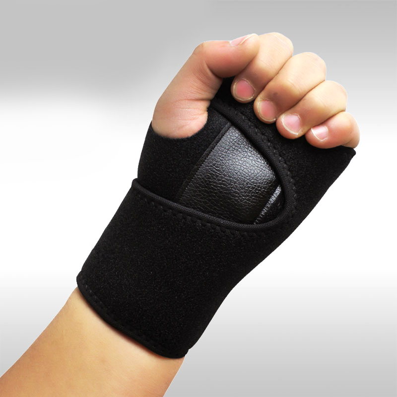 Aolikes 1 Pair Removable Adjust Steel Wrist Brace Support Splint Fractures Carpal Tunnel Sport Sprain Mouse Hand Wristbands