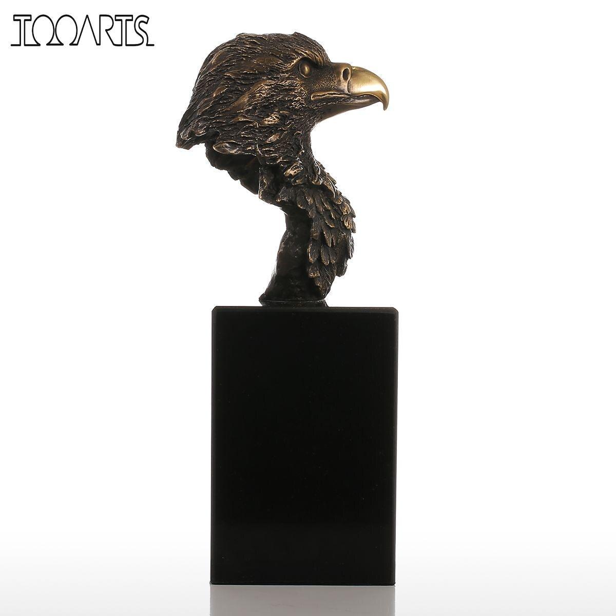 compare prices on bronze sculpture modern online shoppingbuy low  - tooarts sculpture marble base eagle hawk handmade bronze sculpture modernart home decor statue figurine gift