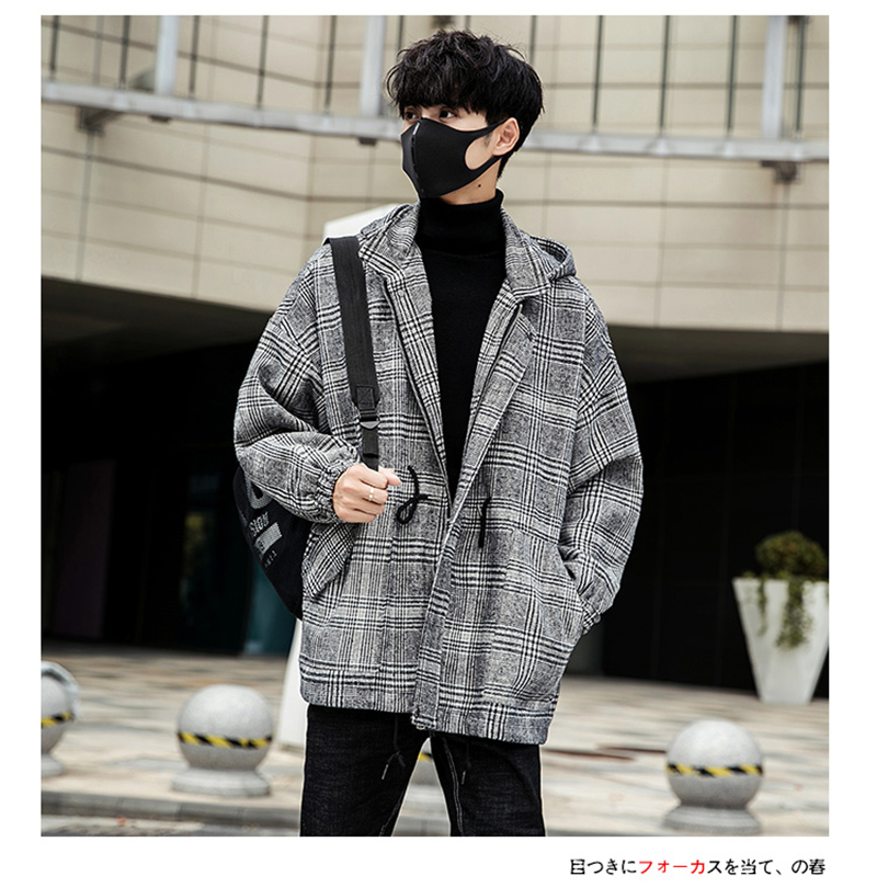 Male Long Coat Oversize Lapel Button Sobretodos Hombre Overcoat Streetwear (21)