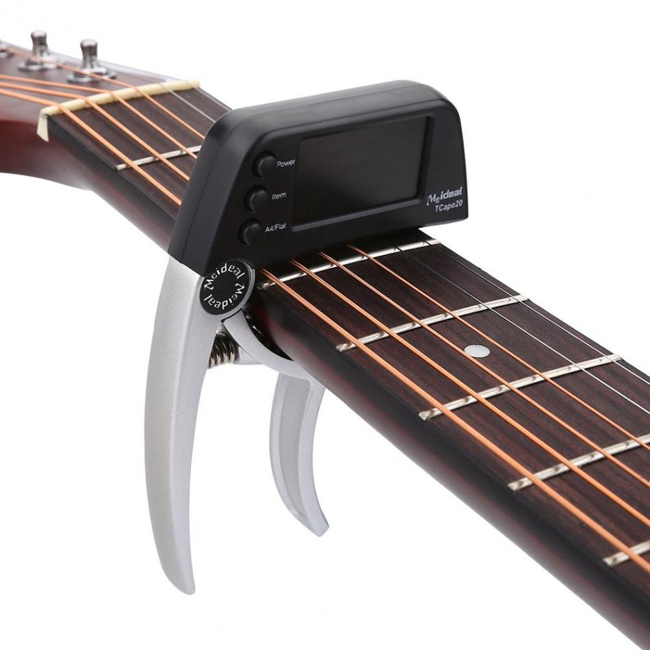 1pc guitar capo one handed quick change metal guitar capo acoustic electric guitar tuner guitar. Black Bedroom Furniture Sets. Home Design Ideas