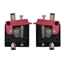 MK8 all-metal uzaktan ekstruder MK8 ekstruder 3D yazıcı parçaları Için 1.75 MM Filament sol el sağ el 3d yazıcı parçaları