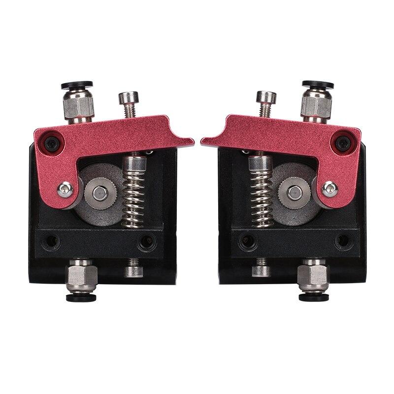 MK8 extrusor alejado todo-metal MK8 extrusora para 3D impresora piezas para 1.75mm filamento mano izquierda mano derecha 3D piezas de la impresora