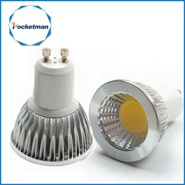 Aliexpress.com : Buy LED lamp GU10 LED Spotlight Dimmable COB LED ...