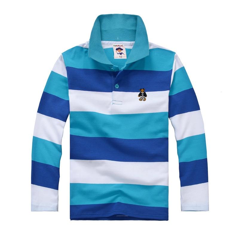 84414864 High quality boys polo shirt Children long sleeve shirt warm cotton ...