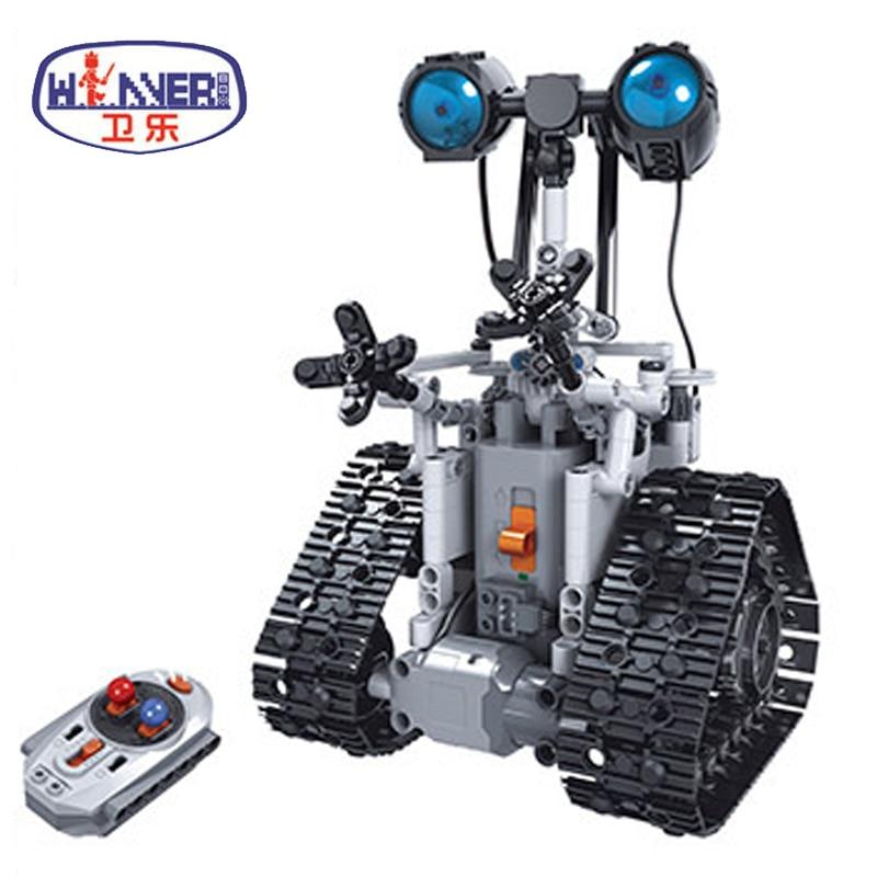 Technic Creative Remote Control RC Robots Electric Bricks DIY Model Building Blocks Toys For Children Gifts