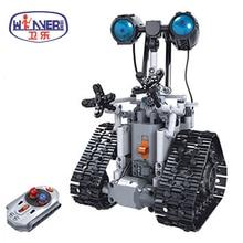 цена на Technic Creative Remote Control RC Robots Electric Legoes Bricks DIY Model Building Blocks Toys For Children Gifts