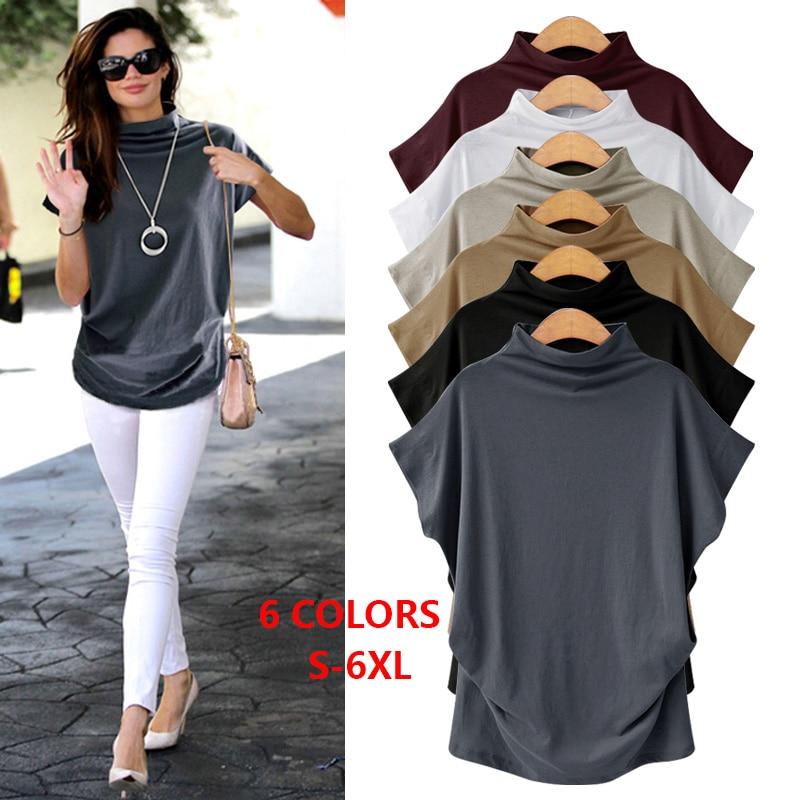больших размеров белая черная футболка женская S 6XL 4XL 5XL хлопок топ женский футболки женские одежда для женщин футболка женская большой размер мода 2018 модная стильная одежда больших размеров осень винтаж