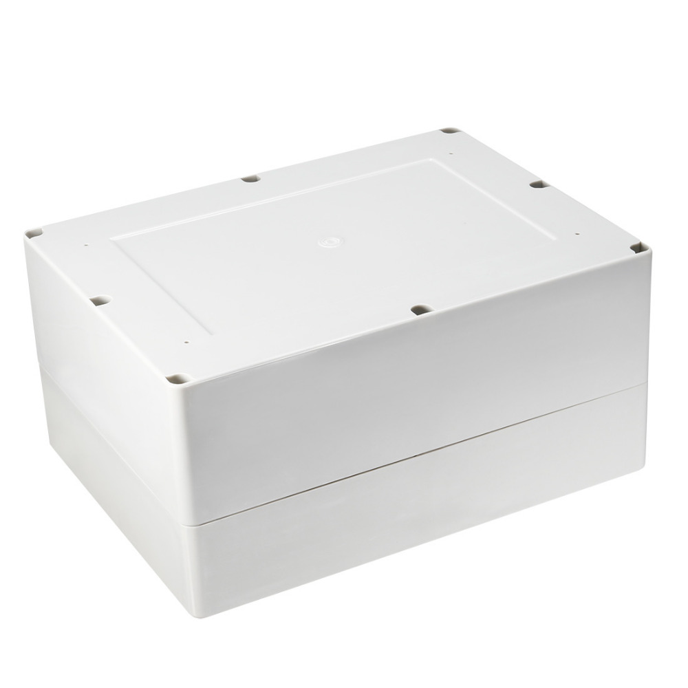 1Pcs Universal Waterproof ABS Plastic 318x236x155mm Junction Box Project Enclosure DIY Outdoor Electrical Connection Cable Box 1pcs universal waterproof abs plastic 318x236x155mm junction box project enclosure diy outdoor electrical connection cable box