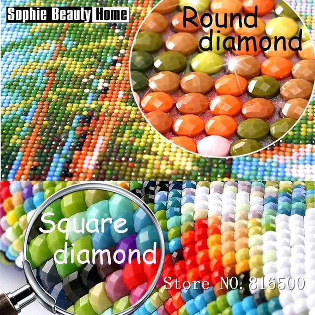 Bricolage diy 5D mosaïque de fleurs | Peinture faite à la main, diamant, Kits de point de croix, motifs de broderie et strass, 062310