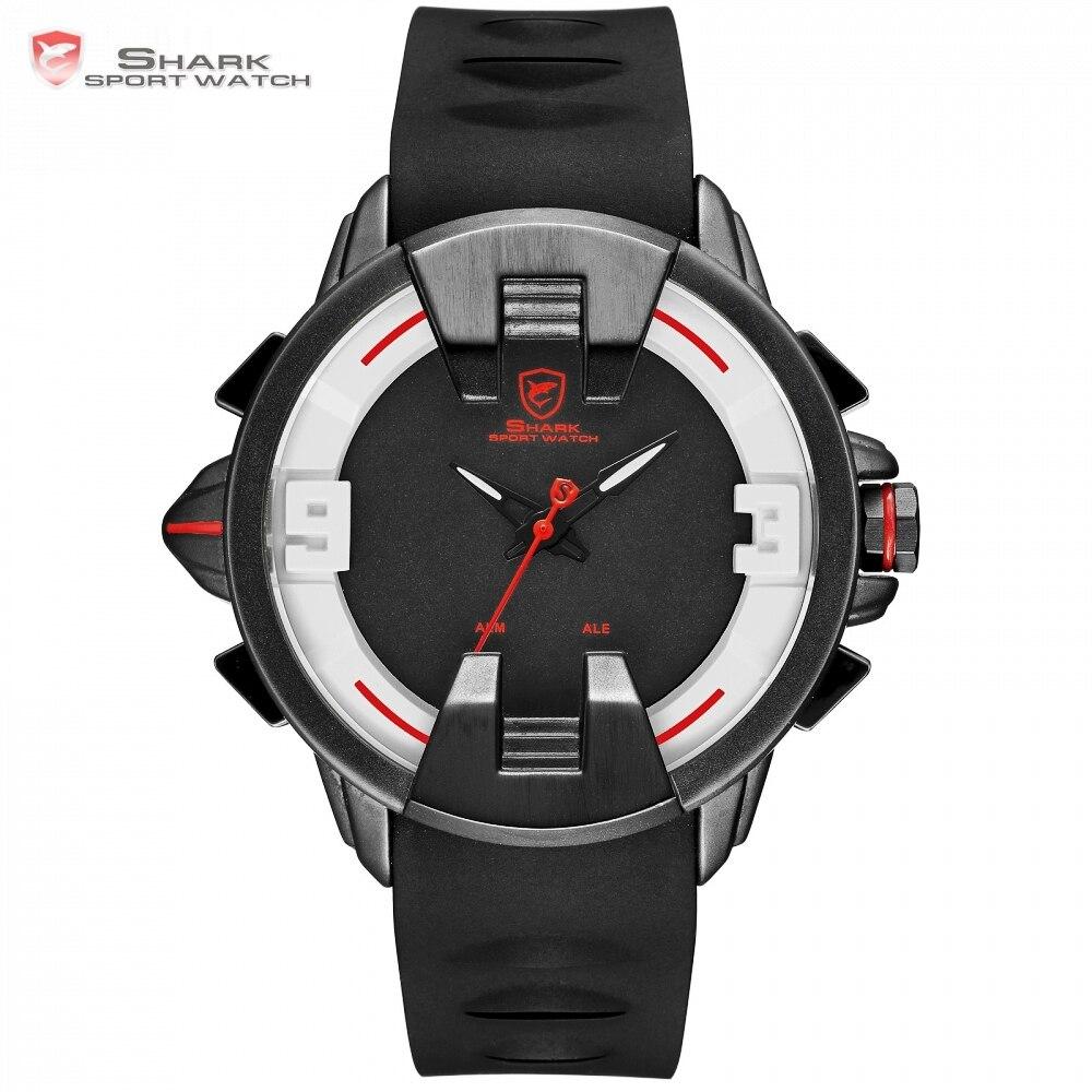 Новый Wobbegong Акула бренд Повседневное часы Для мужчин Будильник цифровой аналоговый Дисплей Для мужчин кварцевые спортивные часы для улицы