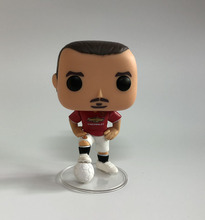 Super sport star action figures model Manchester United club football player Zlatan Ibrahimovic 10cm doll 03 toy collection zlatan ibrahimović mina zlatan