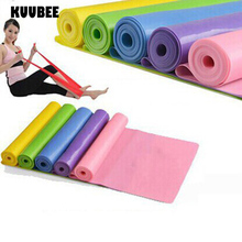 Yoga pilates resistance bands nature latex elastic stretch fitness training crossfit workout pull rope exercise band