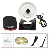 Ultra Speed 5dBi Antenna And 36dBi Radar Antenna Blueway N9800 High Power USB WiFi Adapter USB