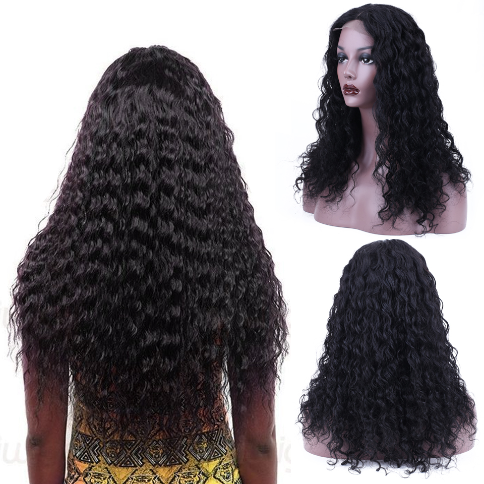 Soph Queen Hair Lace Front Human Hair Wigs Deep Wave Brazilian Remy Hair 4 4 Lace