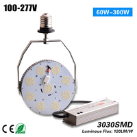 Free Shipping 5 year warranty Meanwell driver DLC ETL 150W canopy led retrofit LED Bulb Light for 400w HPS MH bulb replacement