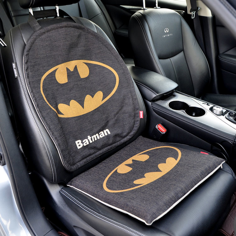 Aliexpress Buy Marvel Cartoon The Avengers Batman Captain Car Seat Cover Universal Protector Mat Auto Cushion Set Interior Accessories From