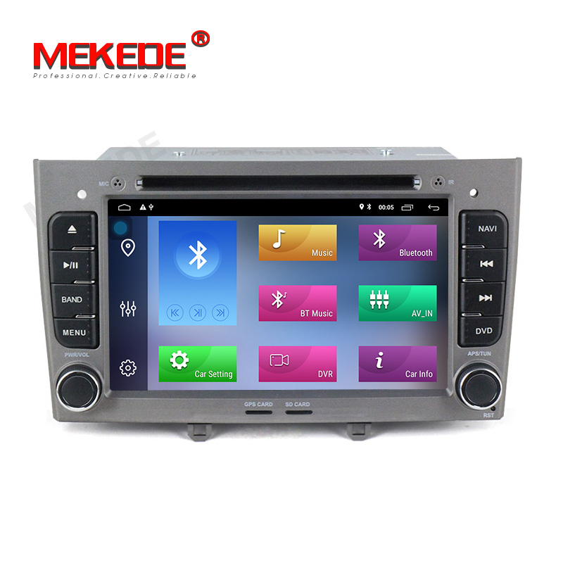 Wholesale 2GB 32GB android 9 1 car gps dvd player for Peugeot 308 2009 2014 with
