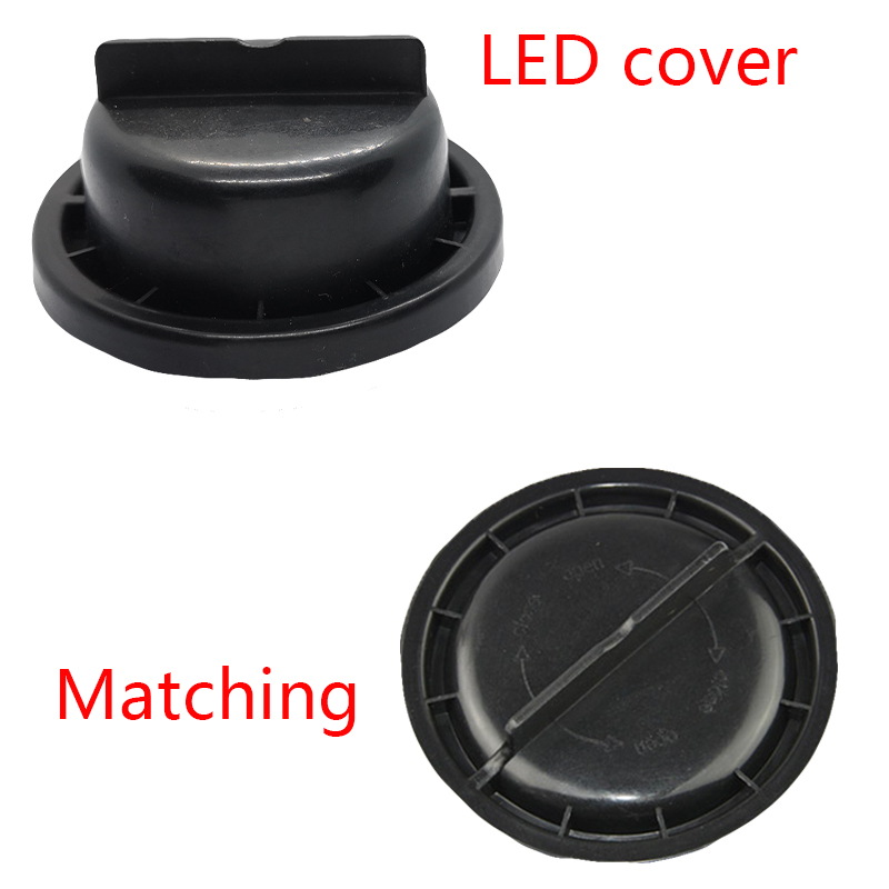 Image 2 - 1 piece Car headlamp overhaul cover LED bulb extension cap Waterproof cover for Taurus-in Car Light Accessories from Automobiles & Motorcycles