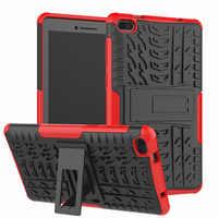 Funda para Lenovo Tab E7 E 7 TB-7104F TB-7104 7,0 pulgadas funda resistente 2 en 1 funda para tablet + película + bolígrafo