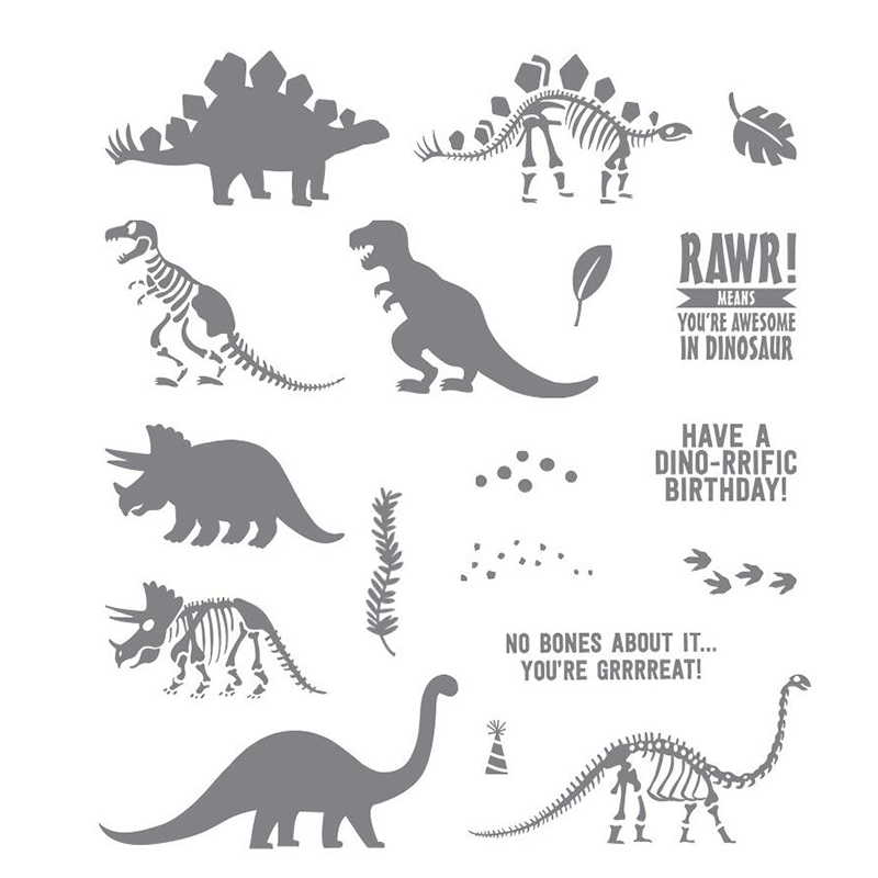 Dinosaur Metal Cutting Dies Or Stamps Diy Scrapbooking Card Stencil