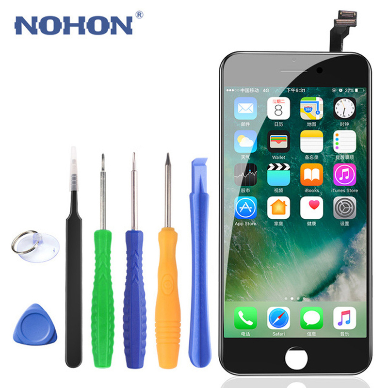 Original NOHON LCD For iPhone 6 6S 7 8 8 Plus Screen Assembly 4.7 5.5 Inch 3D Digitizer Display 3D Force Mobile Phone LCDs image