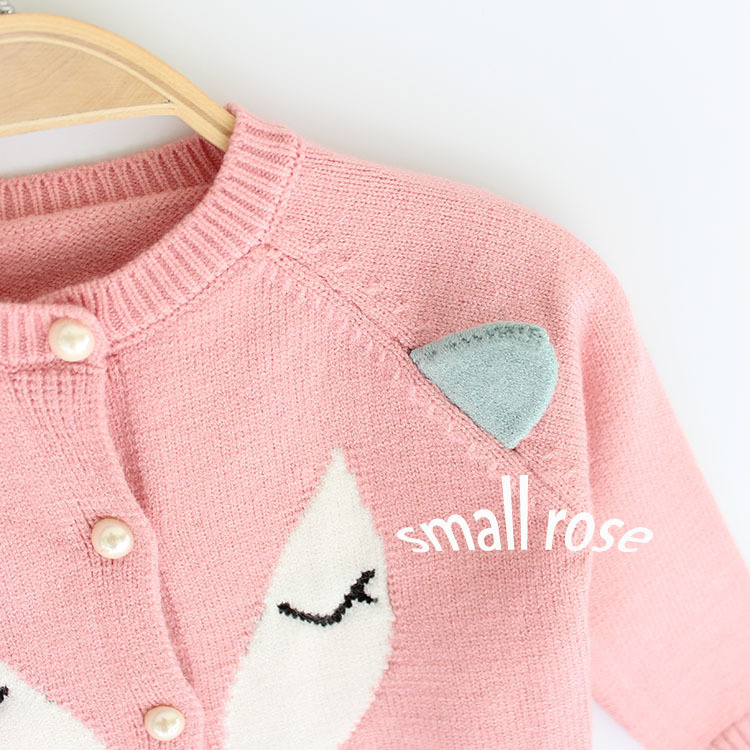 Campure 2017 Boys Sweaters Baby Girls Autumn Winter Wear Warm Fox Cartoon  Sweaters New Children Pullovers Outerwear Baby Sweater-in Sweaters from  Mother ... 2a83d2575dd