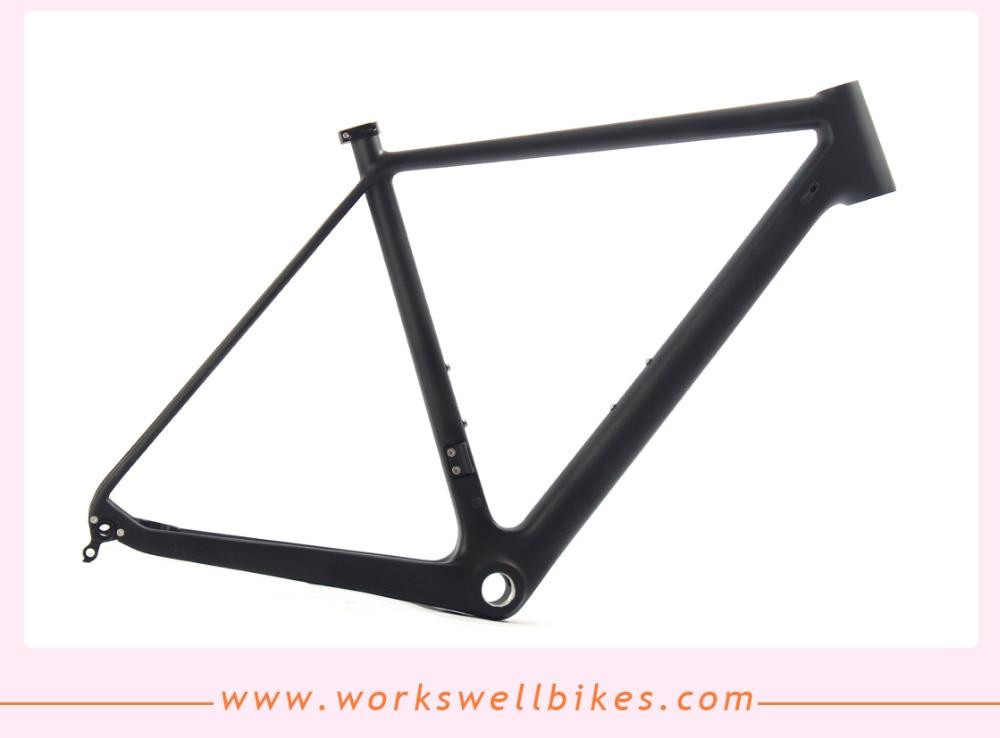 Carbon Cyclocross Rahmen Scheibenbremse Carbonrahmen Cyclocross BSA ...