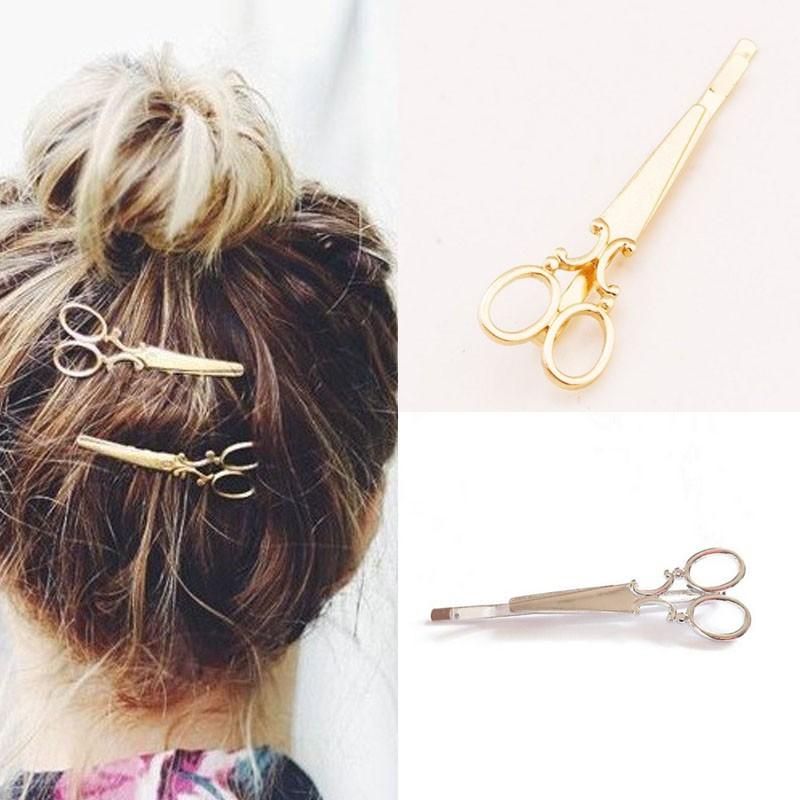 HTB1Hwe2LVXXXXcZXXXXq6xXFXXXi Hip Women Scissors/Branches Fashion Clip For Hair - 2 Colors