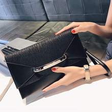Handbag Envelope Clutch Bag Women Leather Birthday Party Evening Clutch Bags For Women Ladies Shoulder Clutch Bag Purse Female studded trim envelope clutch