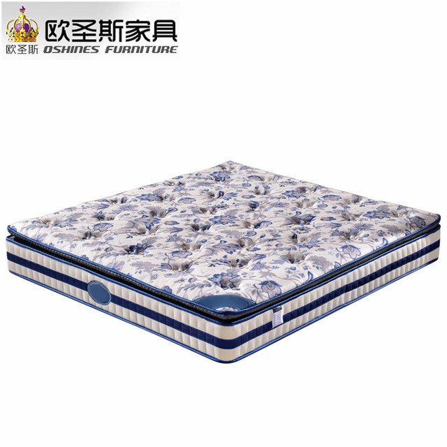 factory wholsale special price 2017 new 4 5 stars king queen size home use spring latex memory foam coconut fiber soft mattress