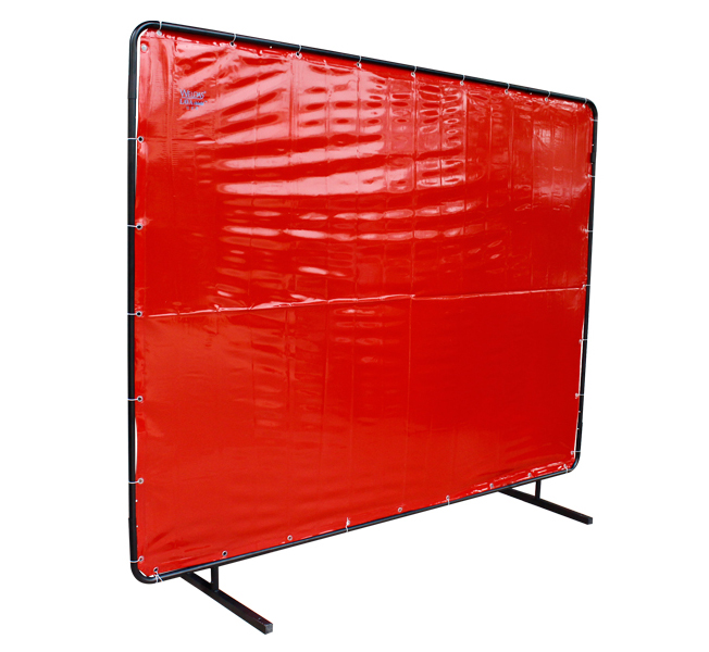 6 X8 Translucent Anti UV Anti UV Fire Proof Flame Retardant Vinyl Welding Screens Curtain