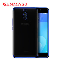 Soft TPU Case For Meizu M6 Note Cases Ultra Thin Transparent Plating Shining Case For Meizu