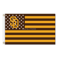 America Us Design Country San Diego Padres Flag World Series Champions Baseball Cub Fans Team Flags