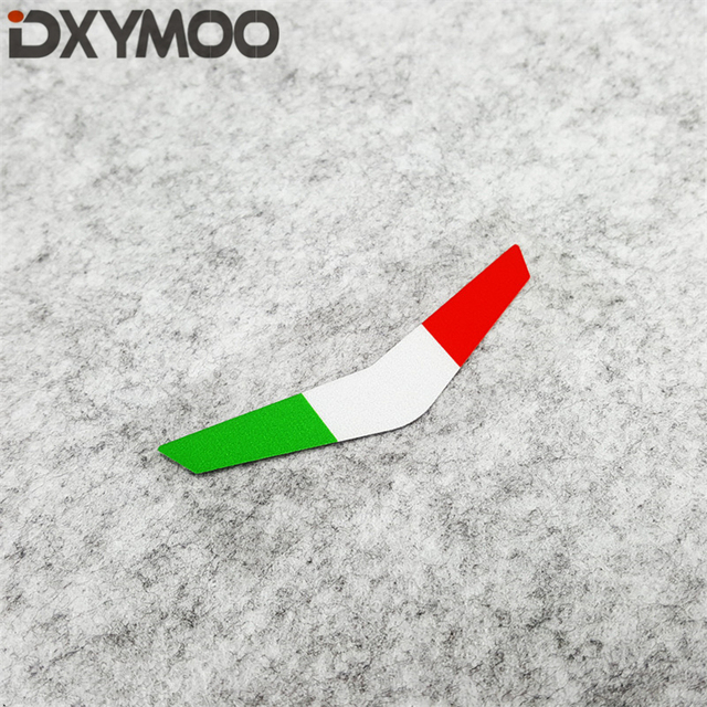 3 piezas calcomanía de vinilo para coche, bandera nacional de Italia, cabeza de motocicleta, pegatinas decorativas para bicicleta