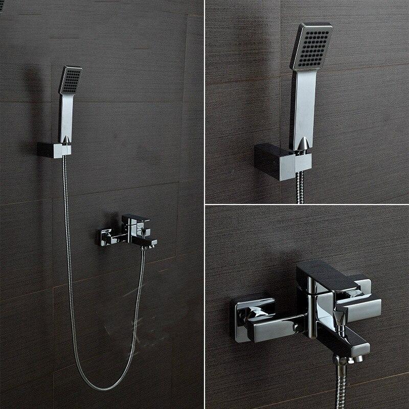 2015 Sale Ceramic Chrome Bath Tub Faucet Shower Mixer Lanos Blaubuc For Ht Copper Bathtub Shower Faucet Square Hot And Cold Set lanos датик уровня топлива