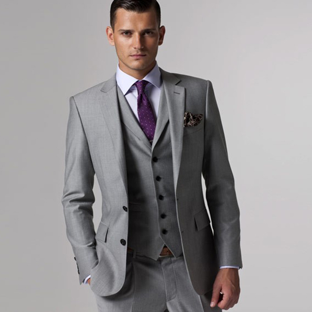Gray wedding tuxedo custom made mens suits gray groom suit men gray wedding tuxedo custom made mens suits gray groom suit men gray tuxedo jacket 2017 grey junglespirit Images