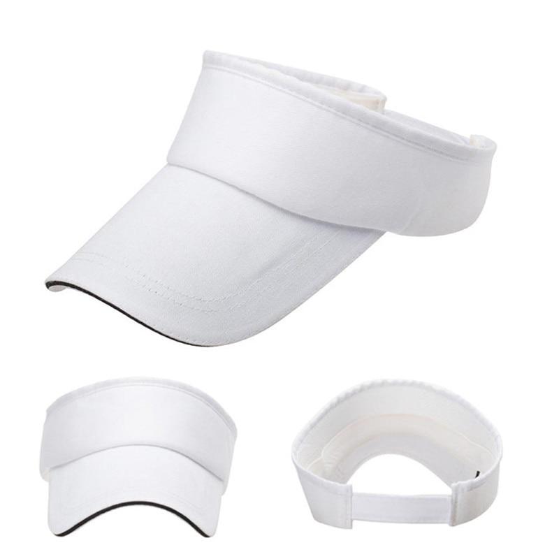 Hawcoar Fashion Casual Men Women Summer Adjustable Visor Sun Plain Hat Cap Casquette кепка Wholesale Free Ship Z5