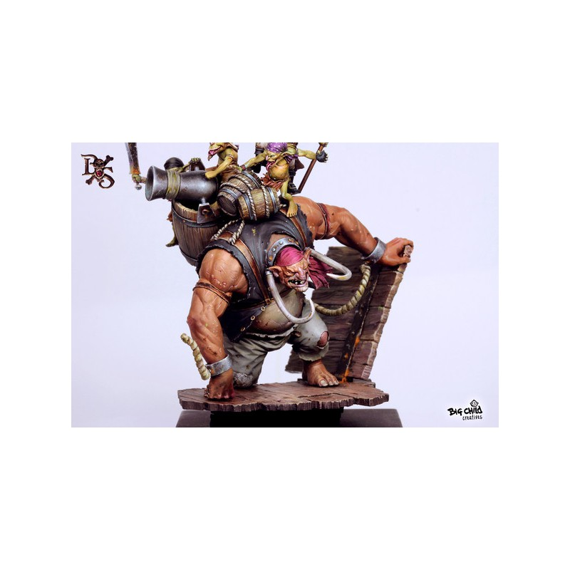 [Loong Way Miniatures] Big Child Creatives GROMMARGH THE