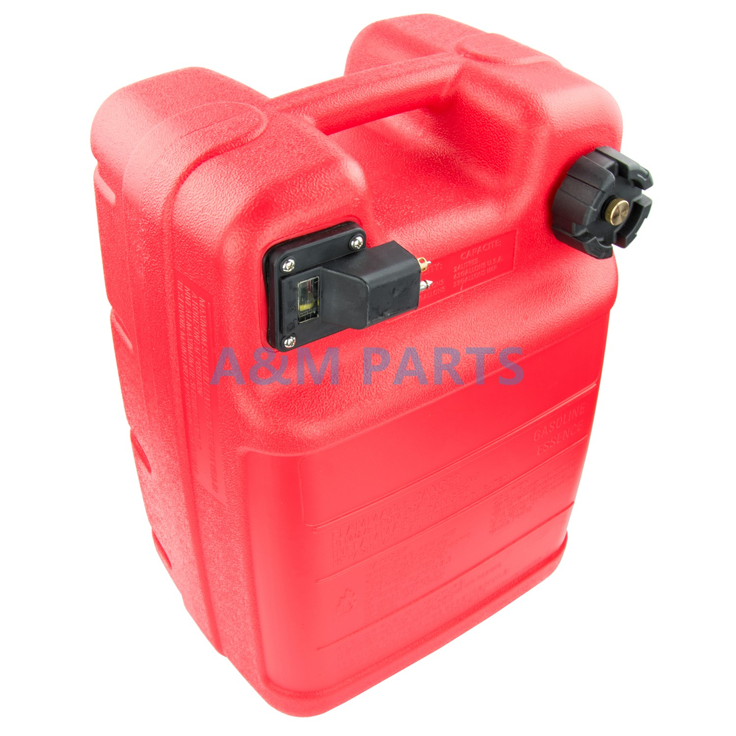 Portable Boat Engine Fuel Tank 24L Marine Outboard Fuel Tank With Connector boat motor 24l fuel tank assembly for yamaha outboard engine with fuel cap and fuel gauge