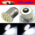 100 X S25 22 LED 1156 BA15S P21W 1206 22 SMD 12V Auto Car Turn Lamp Reverse Tail Light Parking Light Turn Led Car Led Bulbs