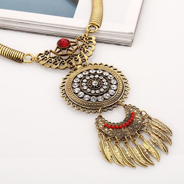 lzhlq 2020 модное женское ожерелье винтажные массивные ожерелья фотография