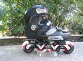 free shipping roller skates for adults in-line roller skating DLF F8 #36--#44 metal pads FSK skates