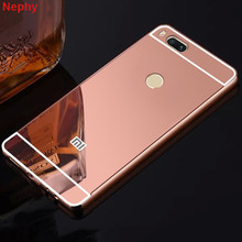 Soft Mirror Cell Phone Case for Xiaomi Redmi 4X 4A 5 5A 6 Pro 6A Plus S2 Note 4 4X 3 Pro Global Version Mi 6 8 Ultra thin Cover(China)