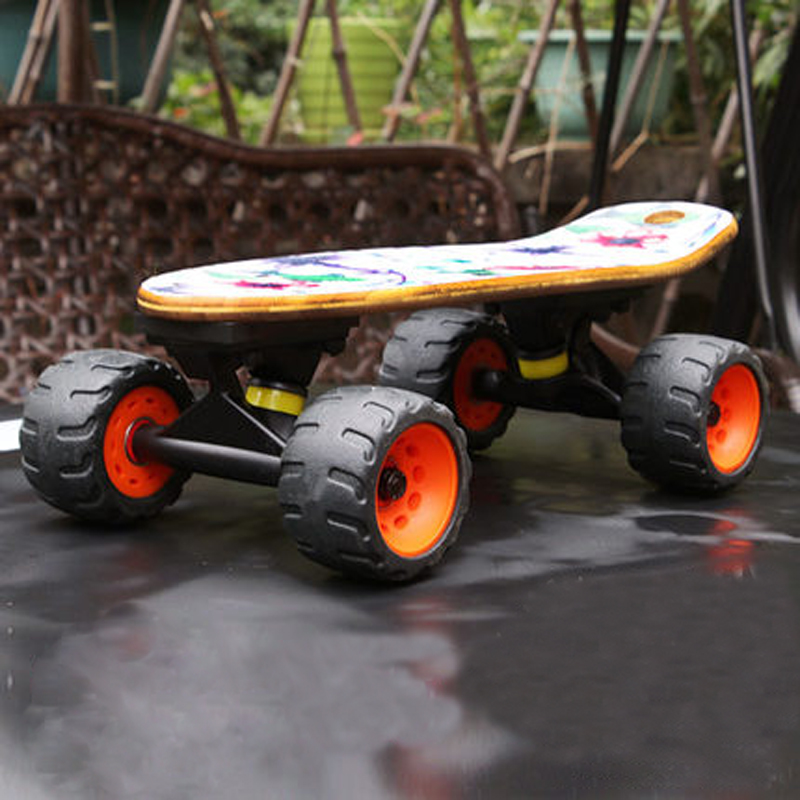 Mini Drift Skate Board Maple Deck Longboard Skateboard Portable Peny Board Fish Plate Four-Wheel Street Board Flying Long Board 4 wheel electric skateboard single driver motor small fish plate wireless remote control longboard waveboard 15km h 120kg
