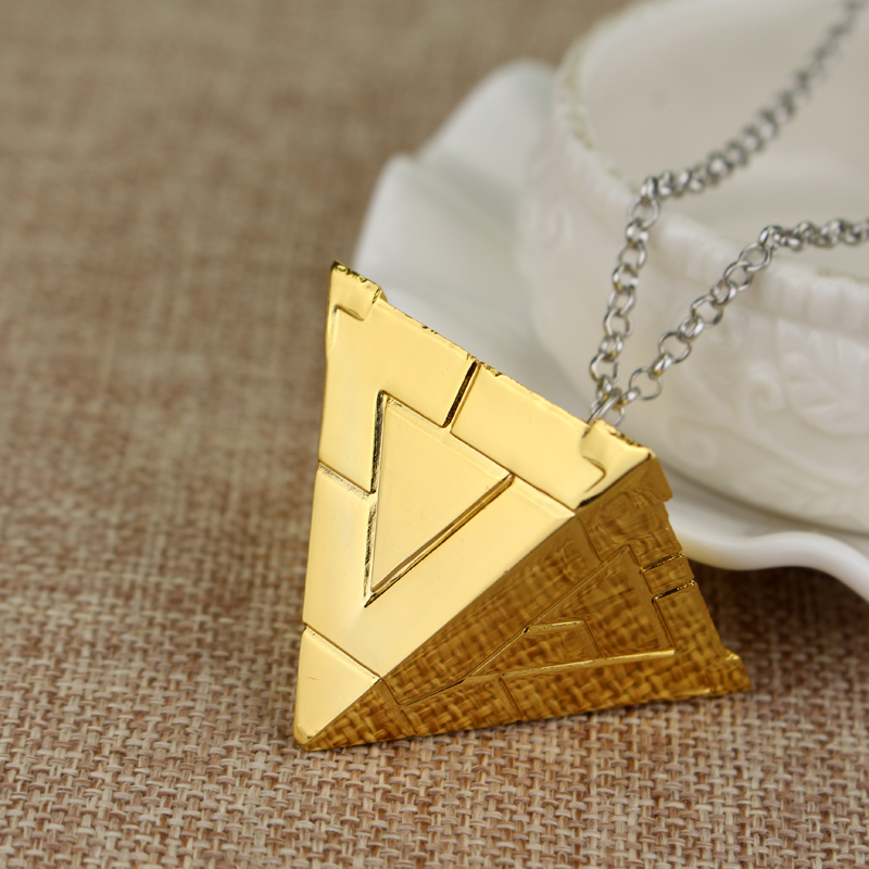 14 stil 3D Yugioh halskjede Yu-Gi-Oh gullfarge Anime Millenium anheng - Mote smykker - Bilde 3