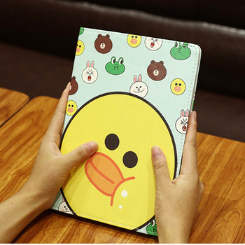 цена на Case For ipad 2017 2018 DrLmm illustration Cute Cartoon Case Scratch-Resistant Cover Hard Back Cover For ipad Air 1 Air 2 Case