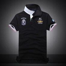 Лето осень новый мужской бутик вышивка 100% хлопок polo футболки мужские Бизнес Твердые нагрудные Тонкий polo рубашка размер M-XXL(China (Mainland))