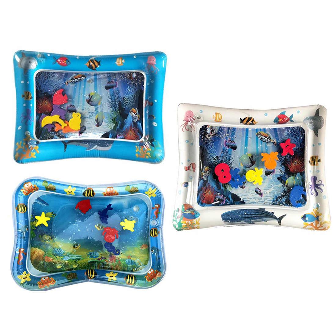 Детская Надувная подушка с заплатками, креативная многофункциональная Детская Надувная подушка для воды, мягкое ползающее водяное сиденье, забавная площадка для активного отдыха
