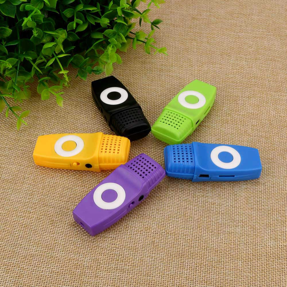 Portable USB MP3 Music Media Player Support 16GB Card Clip sport walkman lettore Used As Micro SD/TF Card Reader BTTF